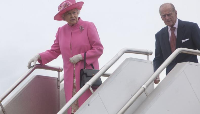 Визит королевы Елизаветы II