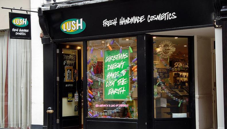 магазин сети Lush