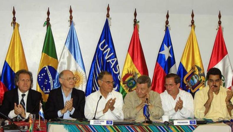 Венесуэла жалуется в UNASUR на США