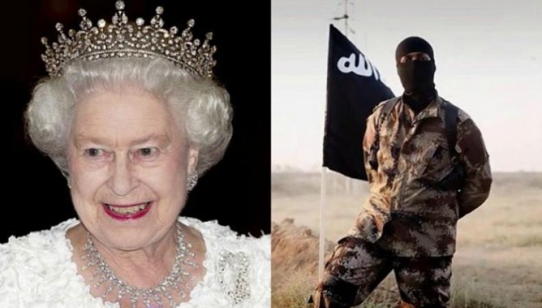 Королева Елизавета II и воин джихада