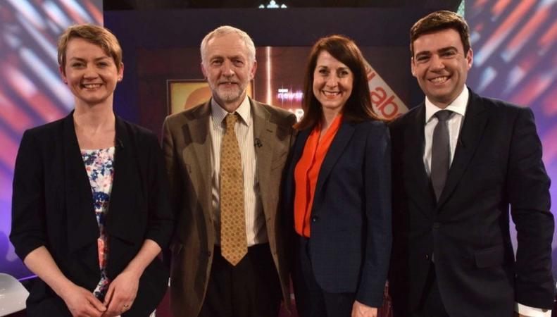 кандидаты на лидерство в партии лейбористов