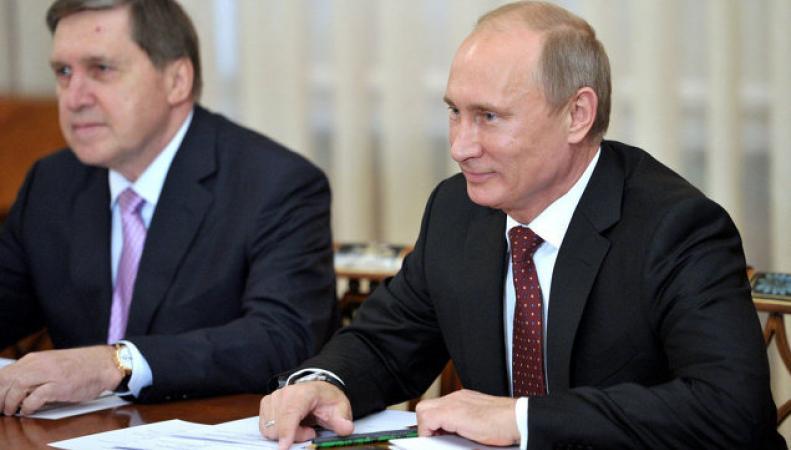 Помощник Владимира Путина Юрий Ушаков: вопрос применения международного контингента в Украине не обсуждается