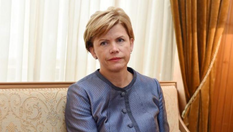 посол Латвии Байба Браже