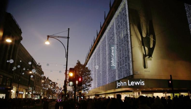 Фасад универмага John Lewis