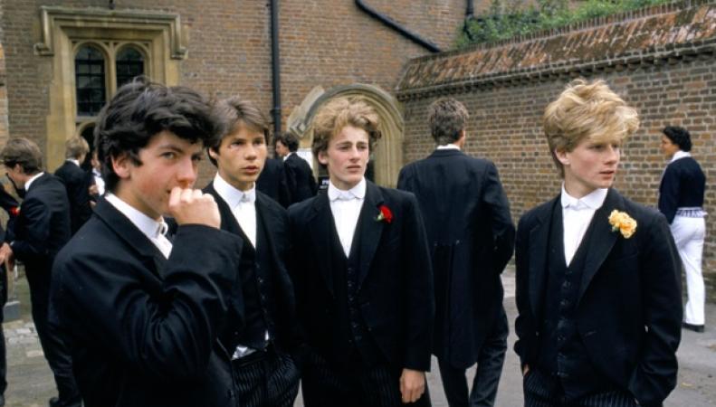 выпускники частного британского колледжа