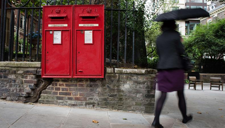 почтовые ящики Royal Mail