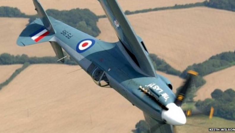 раритетный военный самолет