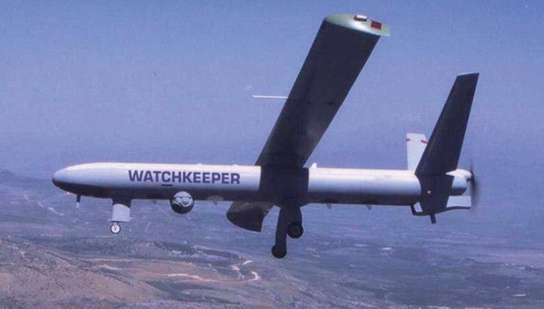 Великобритания вооружилась беспилотниками Watchkeeper