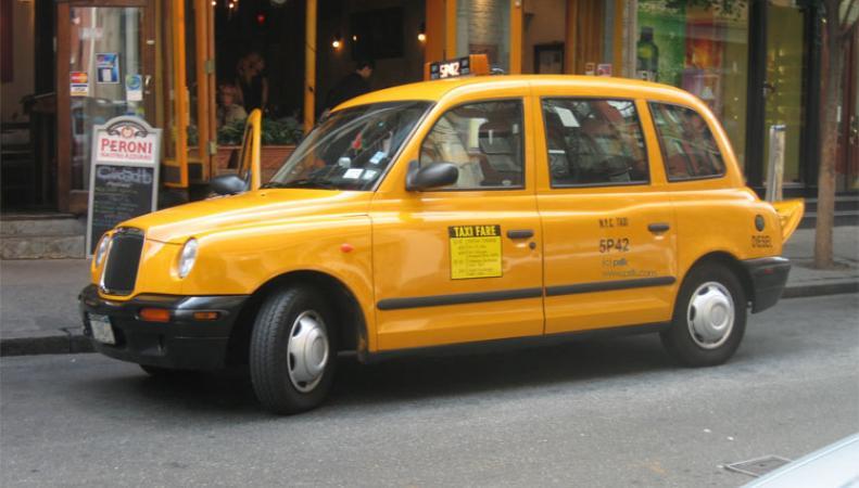 Грабитель уехал с места преступления на такси