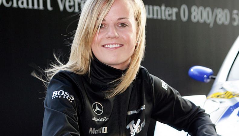 Британская автогонщица Вольфф продолжит работу в команде «Формулы-1» «Уильямс» в 2014 году