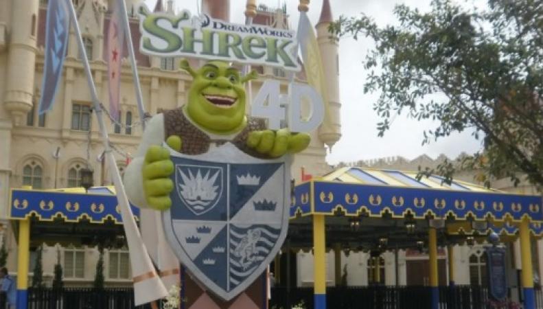 DreamWorks построит в Лондоне тематический парк Шрека