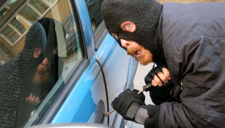 Вора, взломавшего машину, спугнула мумия в багажнике