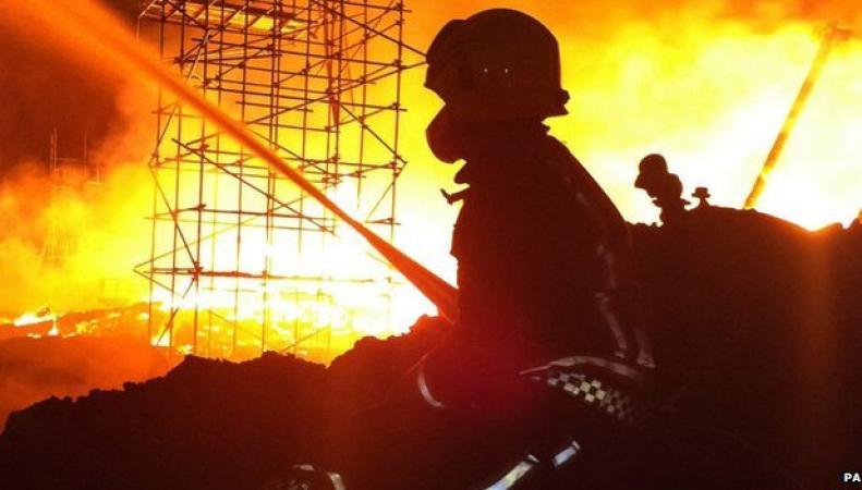 Пожар в университете Ноттингема