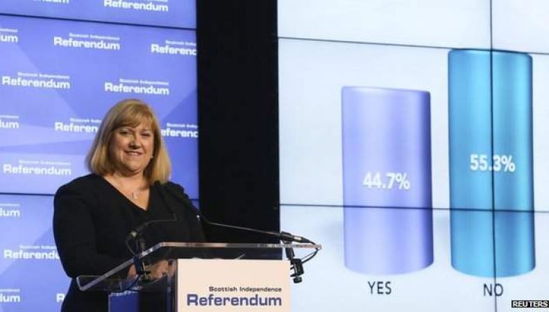глава избирательной комиссии Мэри Питкайтли