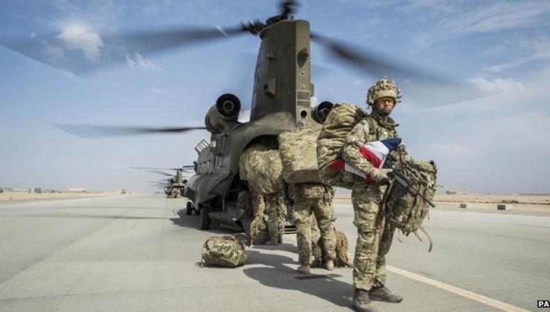 вертолетное подразделения британских ВВС