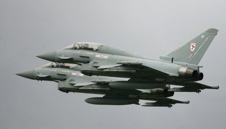 истребители RAF Typhoon