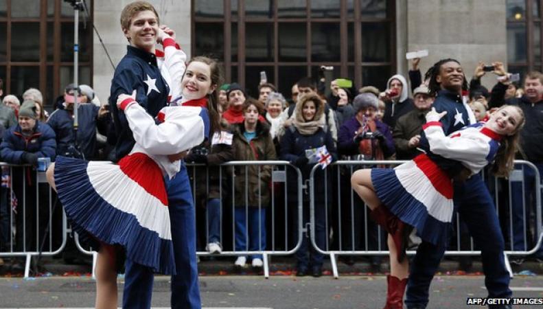 Новогодний парад в Лондоне