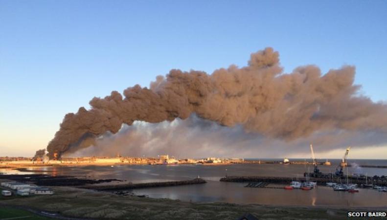 Пожар в Питерхеде