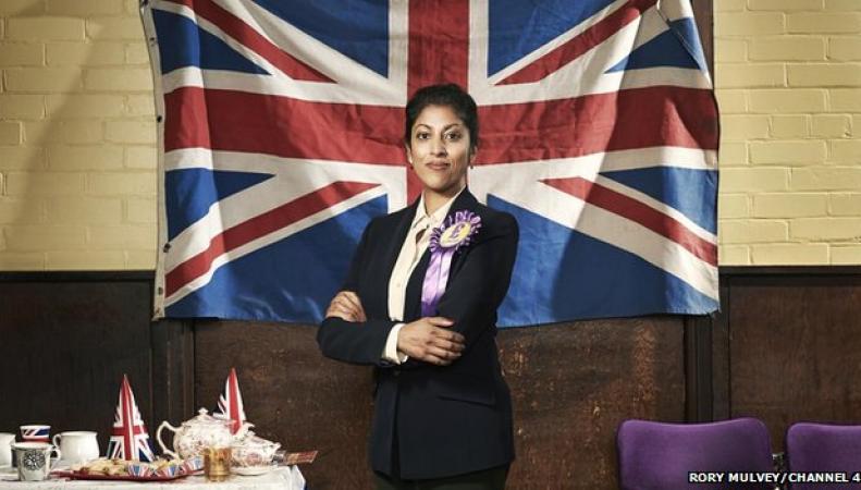 Инсценировка победы UKIP