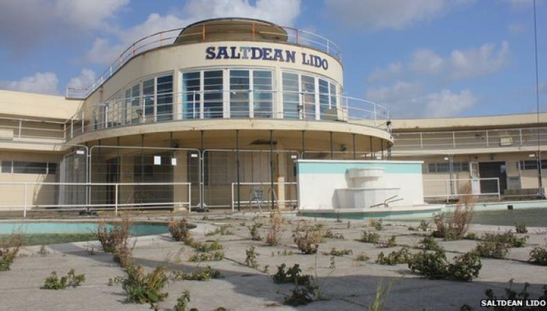 Курорт Saltdean Lido
