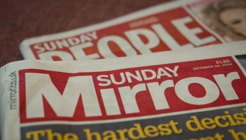 Газеты Daily Mirror и People