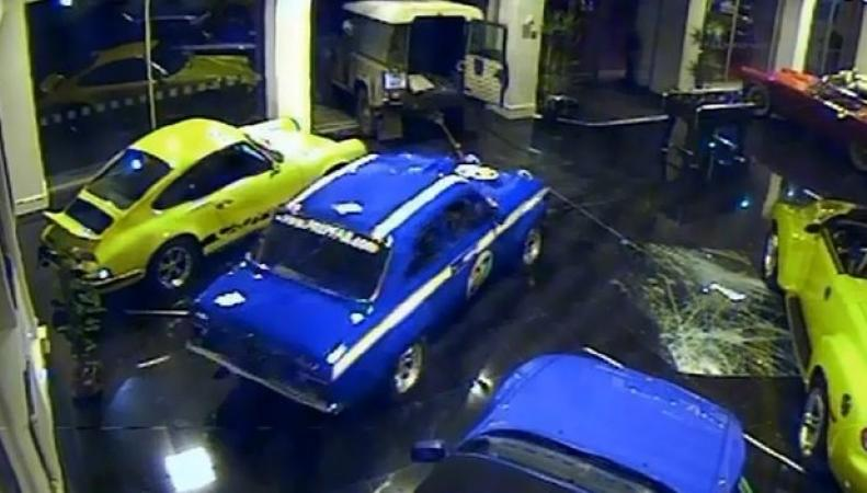 Ford Escort Mexico в шоуруме
