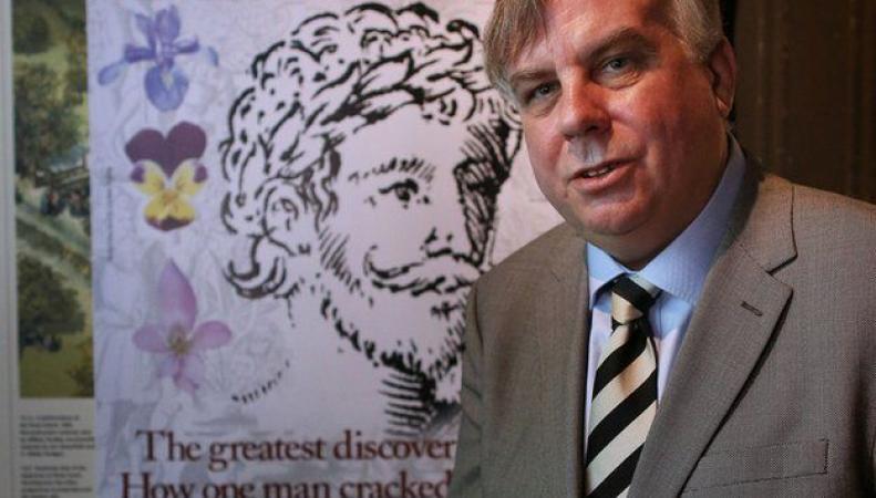 Историк Марк Гриффитс нашел прижизненный портрет Шекспира в книге по ботанике