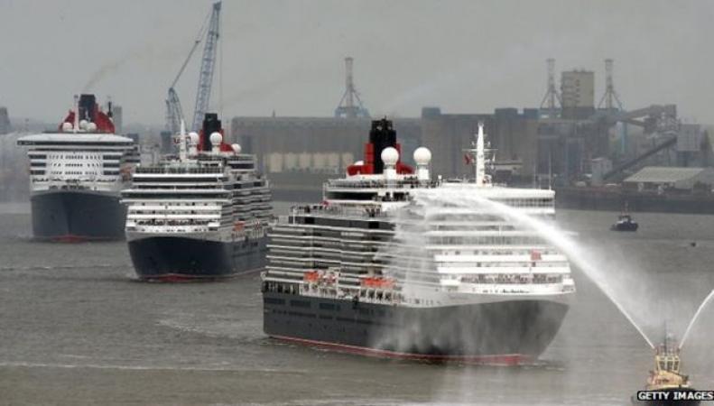 Океанские лайнеры Cunard