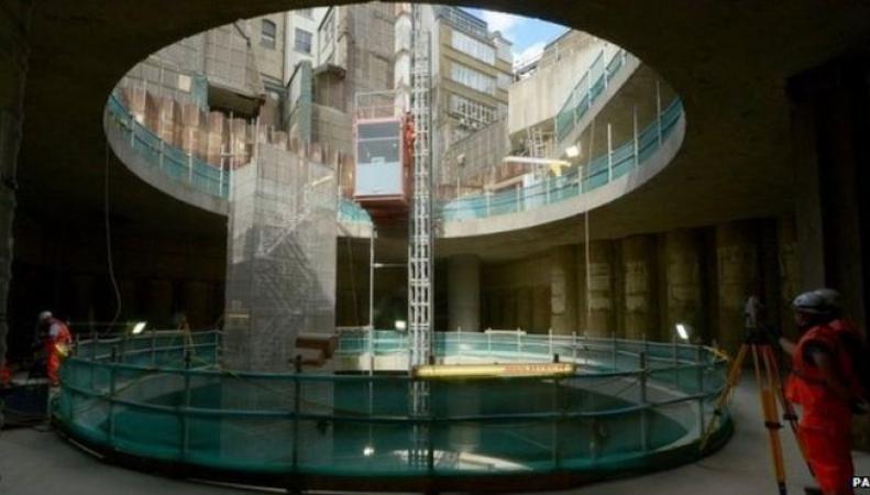 подземная дорога Crossrail