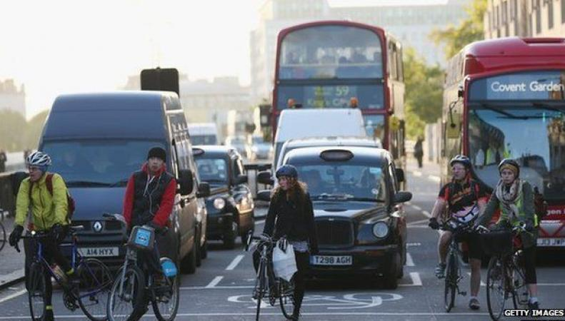 Велосипедное движение в Лондоне