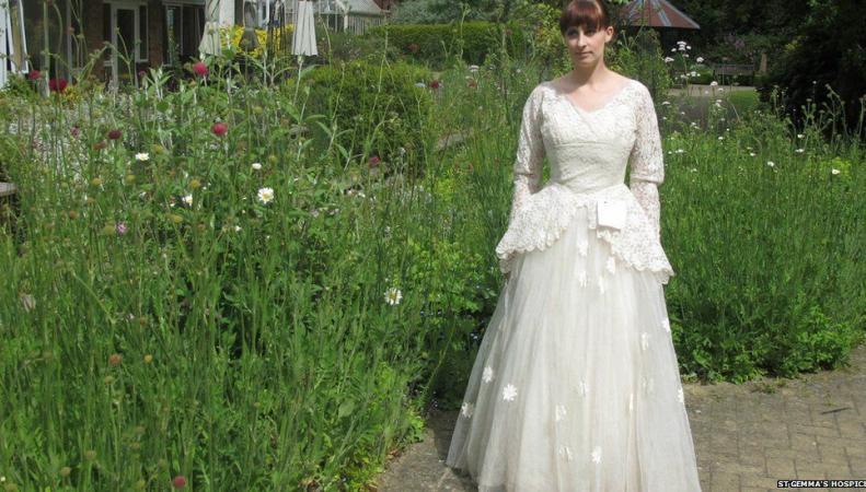 Свадебное платье 1950-х годов