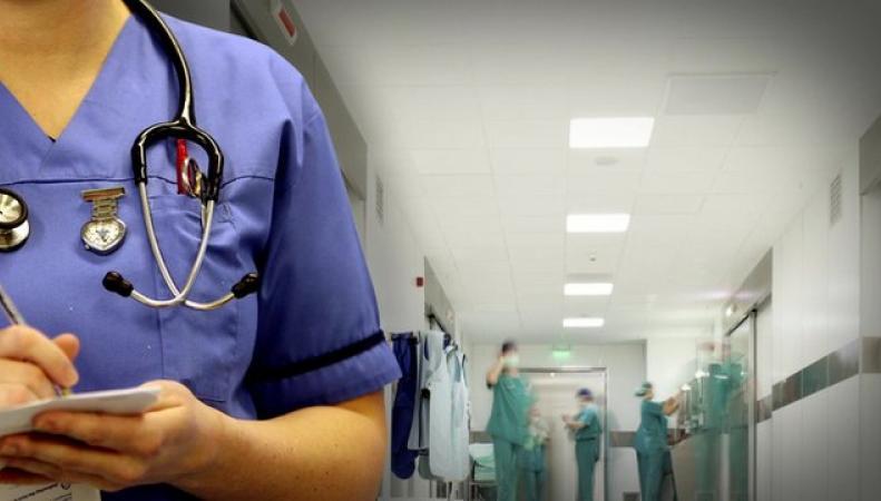 Медсестры в британской больнице