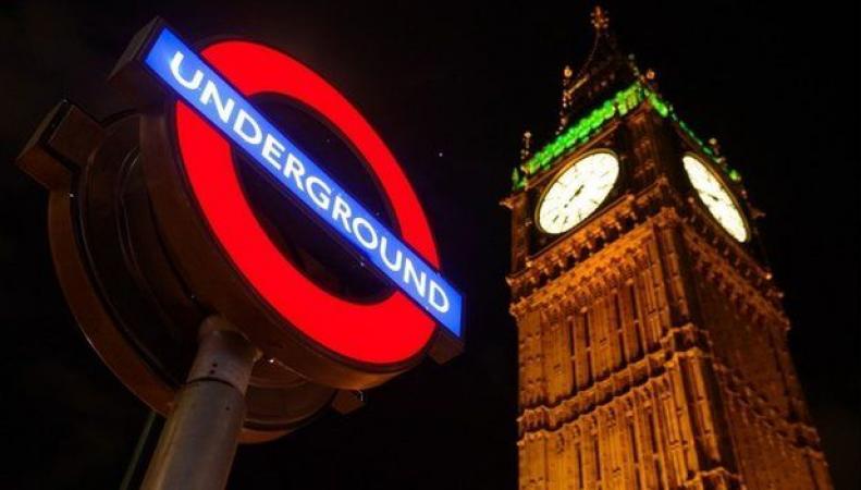 ночное метро Лондона