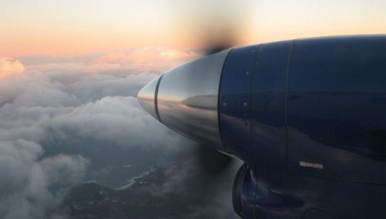 самолет в Шотландию