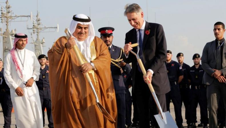 военная база в Бахрейне