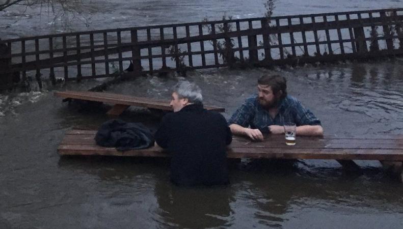 наводнение в Лидсе