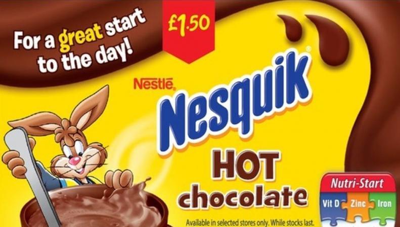 упаковка какао Nesquik