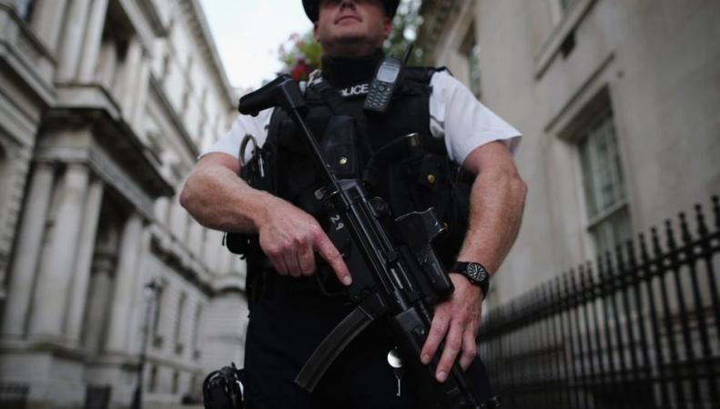 лондонский патрульный полицейский