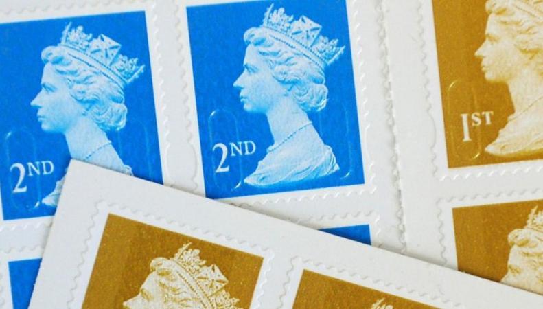 почтовые марки первого и второго класса