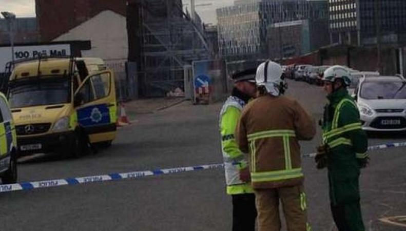 неразорвавшиеся бомбы в Ливерпуле