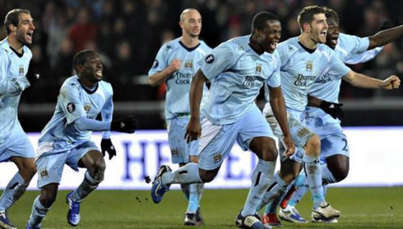 «Манчестер Сити» победил в кубке английской лиги