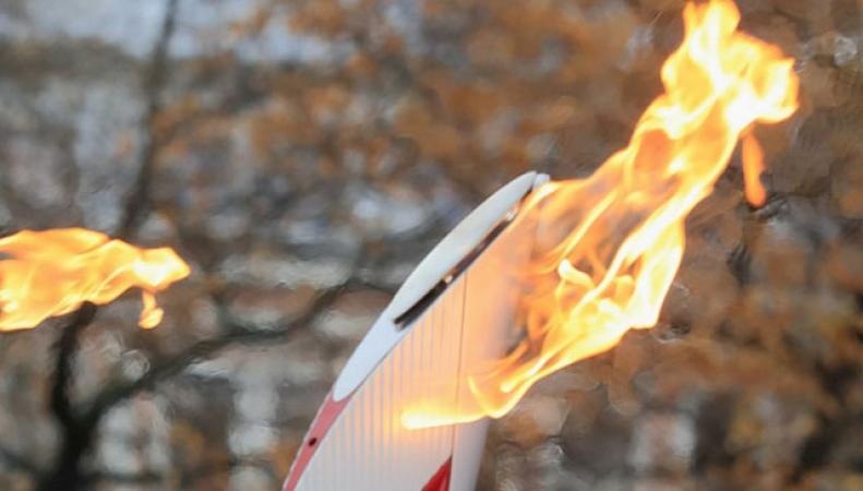 Огонь «Сочи-2014» зажгли в Великобритании