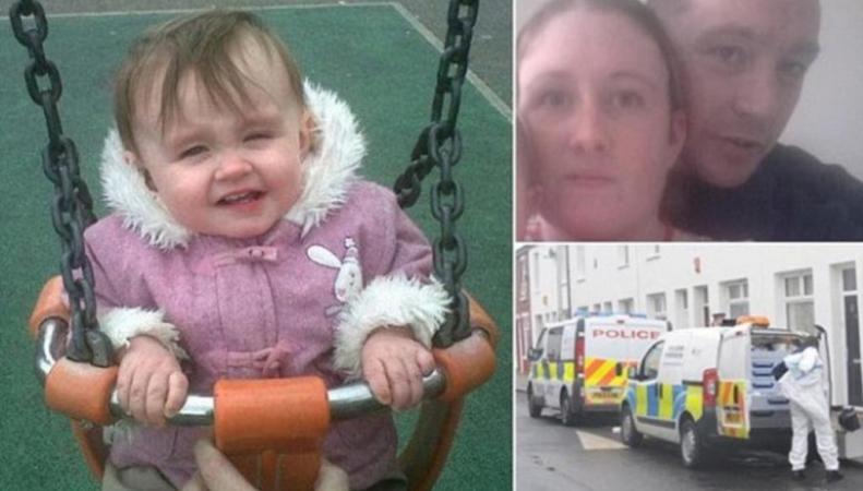Родители двухлетней девочки обвиняются в ее убийстве