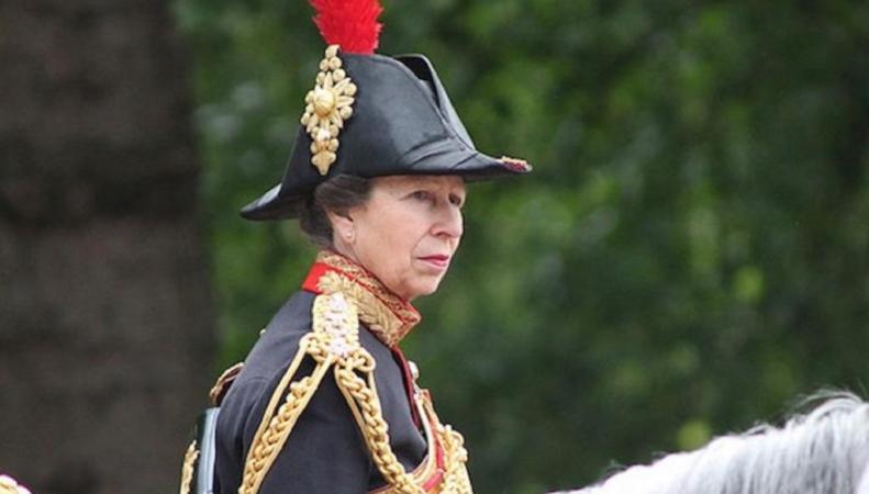 Британская принцесса Анна посетила Эрмитаж