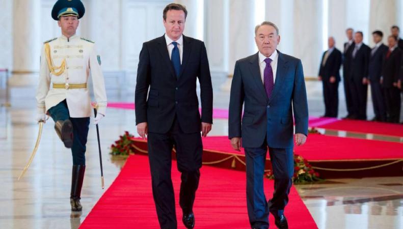 Джеймс Кэмерон и Нурсултан Назарбаев