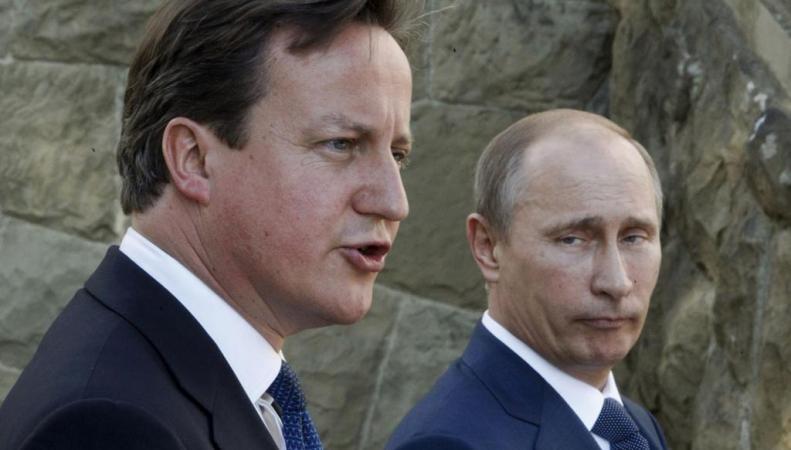 Кэмерон и Путин