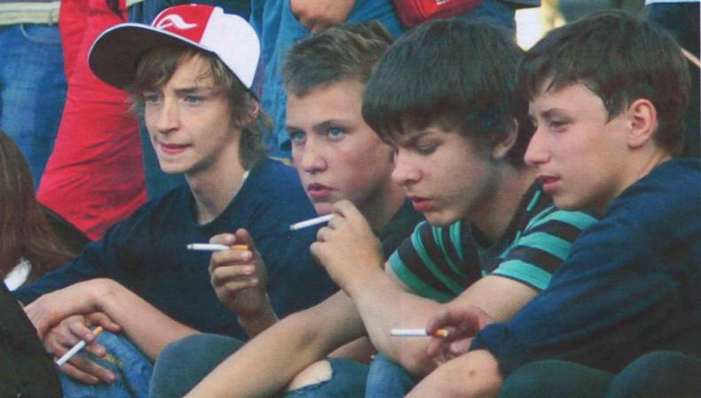 В Великобритании каждый день 600 детей становятся курильщиками