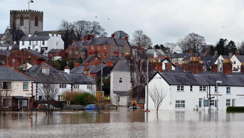 Наводнения в Великобритании