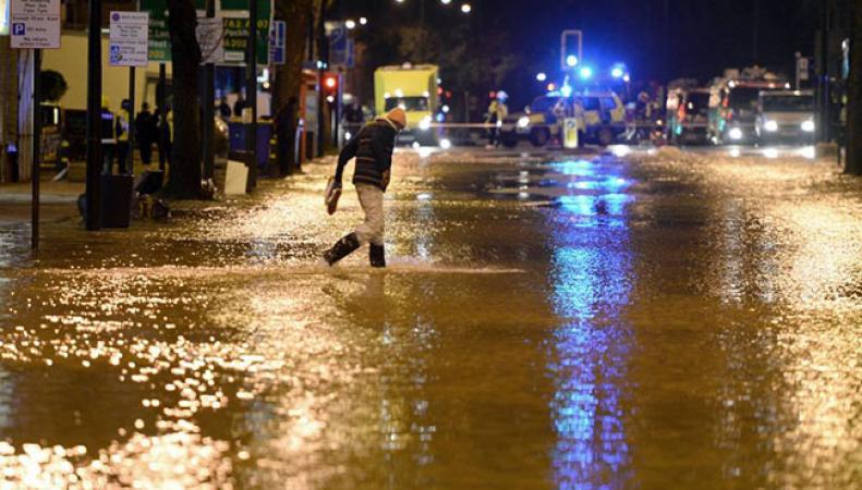 Лондон затопило нечистотами