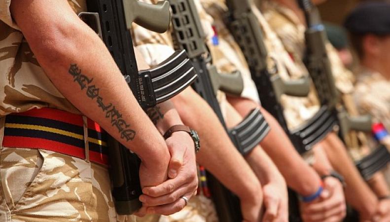 служба в британской армии